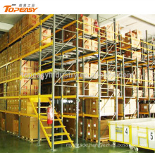 heavy duty steel mezzanine floor for warehouse multi-level mezzanine rack