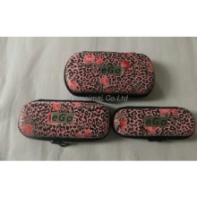 Beautiful Printing flower ego case best quality leather EGO pouch