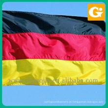 Impressão de bandeiras nacionais alemãs