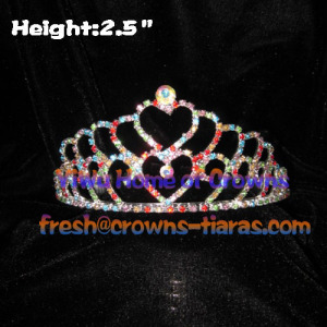 Colorful Heart Princess Tiaras