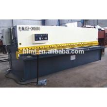 Máquina hidráulica de cisalhamento de guilhotina metálica com ESA da Itália CNC