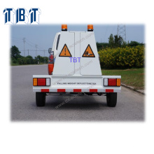 TBT-D1 Deflector automático de peso descendente FWD montado en un remolque completamente automático