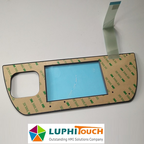 Rubber Keypad LGF Backlight Membrane Keyboard