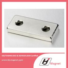 Заказной высокой мощности сильной N35-52 неодимовый магнит с ISO9001 Ts16949