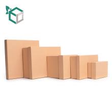 Einfarbiger Kraftpapier-Verpackenkasten für Seife