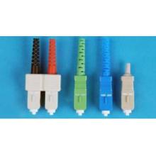Connecteur de fibres optiques Sc mode unique / mode Mutil