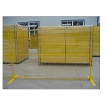 Powder Coating Temporary Fence in Best Quality