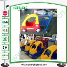 Supermercado Kids Shopping Trolley con coche de juguete de plástico