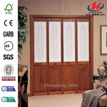 4-Panel Glass Bathroom Sliding Door