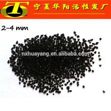 Carvão ativado com alto teor de iodo granulado de coco para tratamento de água potável