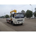 Small capacity 4*2 road sweeper truck for sale