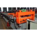 hebei xinnuo 915 piso deck telhadura folha de rolo dá forma à máquina