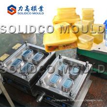 Moule d'injection en plastique / moule de boîte de mur mince / moule de ménage