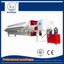 1250 lavadora de carbón, equipo de filtro automático de prensa