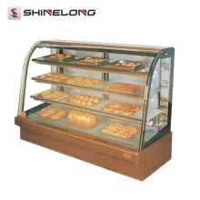 Comercial Hotel Kitchen Equipment 1.2M 4 capas panadería Showcase para panadería