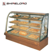 Commercial Hotel Kitchen Equipment 1.2M 4 Layers Bakery Showcase para Padaria