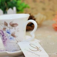 Gran calidad delicado diseño ilustraciones porcelana esmaltada copas venta al por mayor 2016