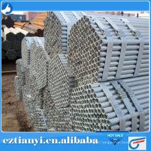 Produtos de alta demanda ASTM A106 GR.B tubo de aço galvanizado