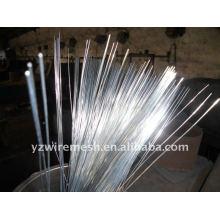 Cortar alambre / alambre de corte galvanizado / alambre de hierro galvanizado / alambre negro