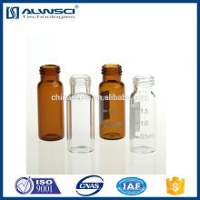 2ml clear Tornillo de rosca 9-425 HPLC Autosampler Frascos compatibles con Agilent