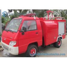 Foton Mini 4X2 1000L Water Tank Fire Fighting Truck