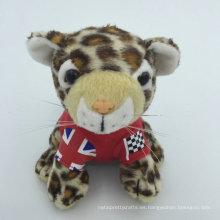 Juguete de bebé personalizado Juguete de peluche suave animal de selva leopardo