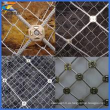 Red de malla de alambre de acero inoxidable, malla de protección de pendiente