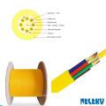 Cable de fibra óptica monomodo interior de 96 núcleos con amortiguación estanca