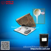 RTV liquid silicone rubber for concrete molds