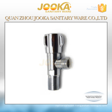 Amazing price chrome plated stop valve with zinc handle