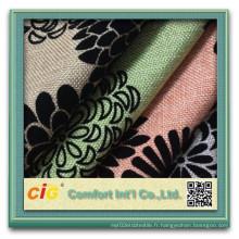 Flocage de tissu de canapé pour le recouvrement de canapé (CIGD4BSF-0030)