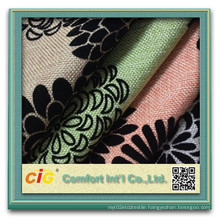Flocking Sofa Fabric for Sofa Covering (CIGD4BSF-0030)