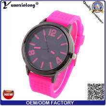 Yxl-161 Neue Design Mode Silikon Uhr Männer Frauen Quarz Sport Casual Großhandel Uhren