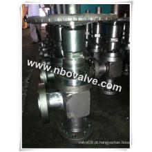 """Válvulas ajustáveis do estrangulador do corpo do ângulo (L44Y- 3-1 / 16 """")"""