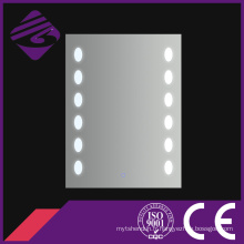 Jnh185 Cheappolished Edge Rectangle Salle de bain anti-brouillard LED miroirs