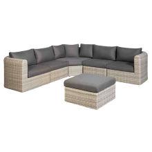 Patio Garden Wicker Lounge Sofa Set Outdoor Rattan Furniture