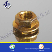 All Sizes Flange Nut with Zinc