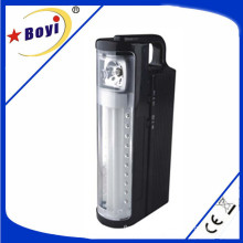 LED/SMD Rechargeable Emergency Lights with USB Output, Black