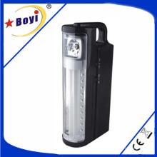 Luzes de emergência recarregáveis do diodo emissor de luz / SMD com saída do USB, preto