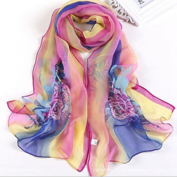 Mode Léger large long 160 * 50 doux jilbab abaya mariage mousseline hijab plaine