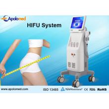 13 mm y 8 mm de alta intensidad de ultrasonido enfocado Reducción de grasa Hifu