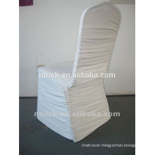 Ruched spandex lycra chair covers for wedding