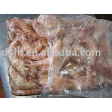 frozen shrimp, pink shrimp, shrimp(whole round)