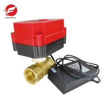 Hecho en China actuador de válvula de agua solenoide eléctrico 12v