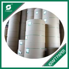 Papier Kraft Marqué Recyclé en Usine