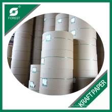 Заводская переработанная коричневая крафт-бумага