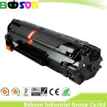 Tóner negro compatible CB436A / 36A de la venta directa de la fábrica para la muestra libre de HP
