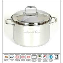 Stainless Steel Big Stockpot Saucepot