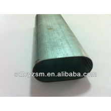 Cold Drawn Flat Oval Steel Pipe Oval Shape Steel Pipe