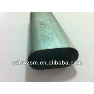 Cold Drawn Oval Steel Tube Oval Shape Steel Tube